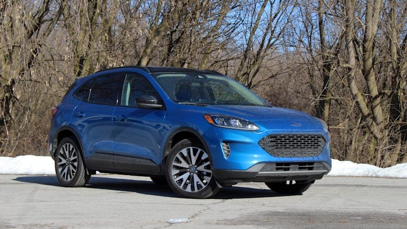 2020 Ford Escape SE Sport Hybrid Drivers' Notes | Green sleeper