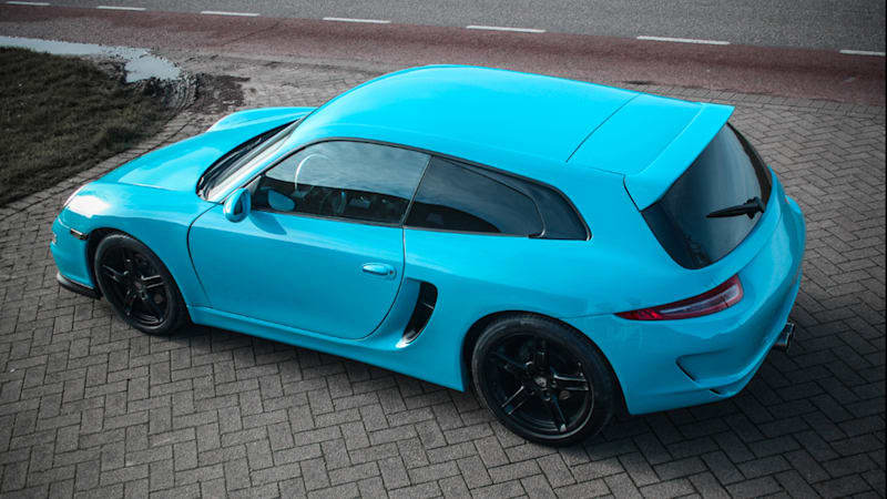 Porsche Boxster shooting brake is the best student project you were never part of