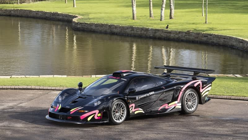 McLaren F1 GTR Longtail No. 1 is road-ready and listed for sale