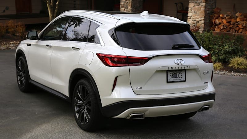 2020 Infiniti QX50 Luggage Test | Not infinity, but enough