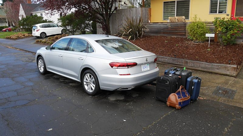 2020 VW Passat Luggage Test | Das boot