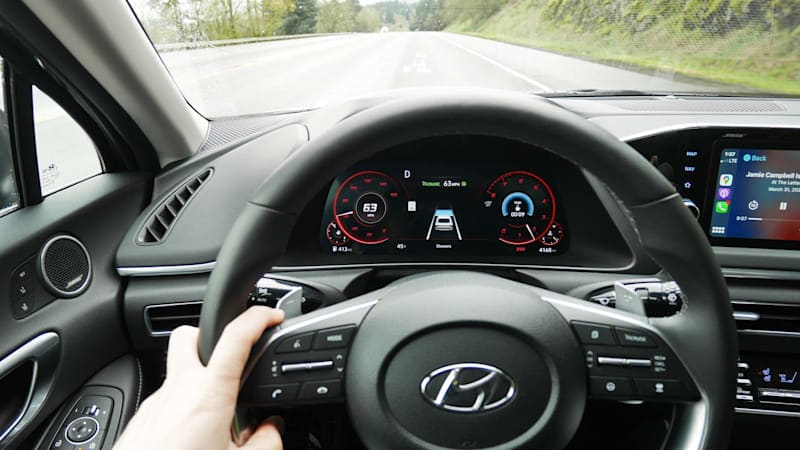 2020 Hyundai Sonata Safety Tech Driveway Test | Excellence in abundance