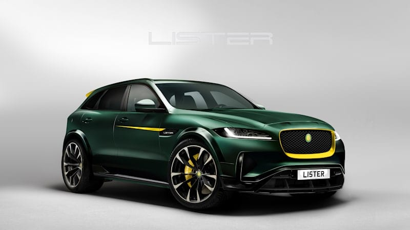 Lister teases 675-hp, 200-mph Stealth SUV