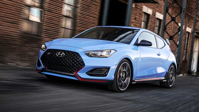Hyundai Veloster N welcomes multi-mode eight-speed dual-clutch gearbox