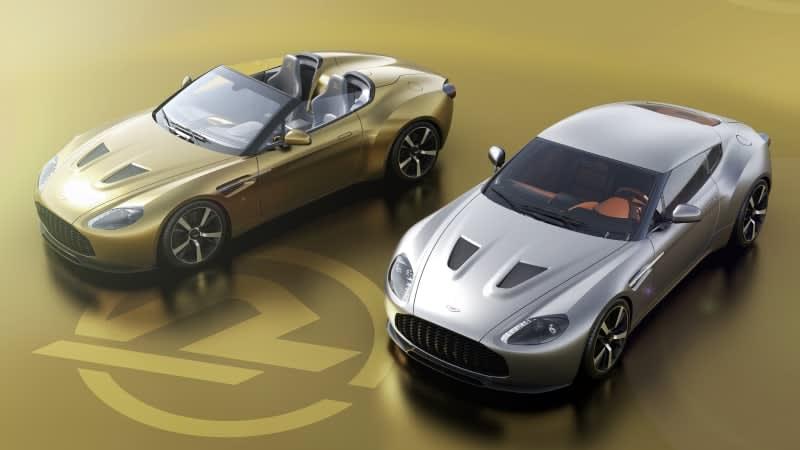 British firm helps Aston Martin, Zagato re-create commemorative Vantage
