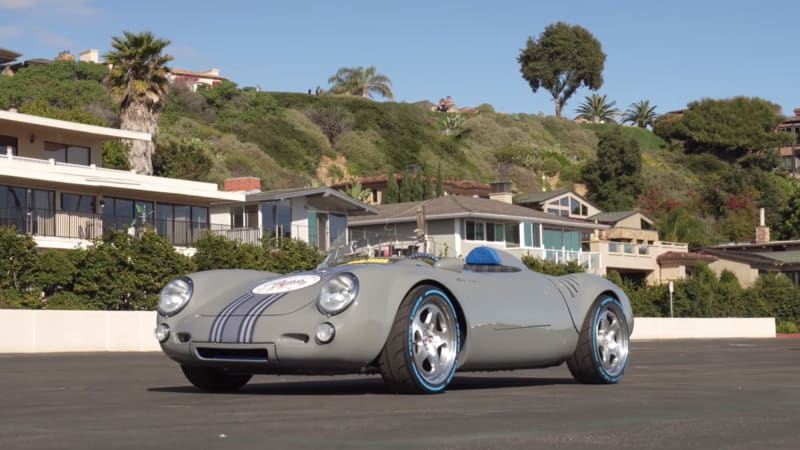 This Porsche Spyder features a Subaru boxer and a literal box of money