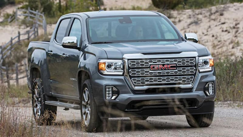 Basic configurator for 2021 Chevy Colorado and GMC Canyon slips online