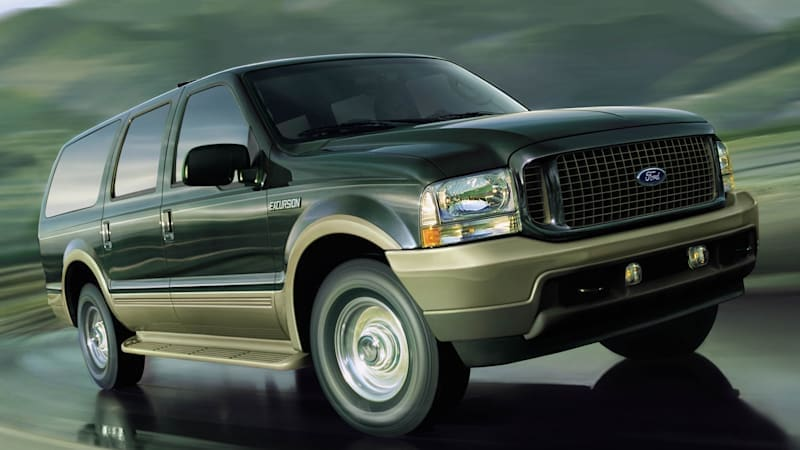 Ford's Excursion nameplate unexpectedly appears on patent application