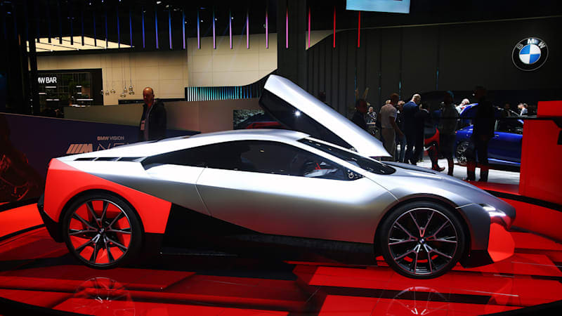 Production version of BMW Vision M Next apparently canceled