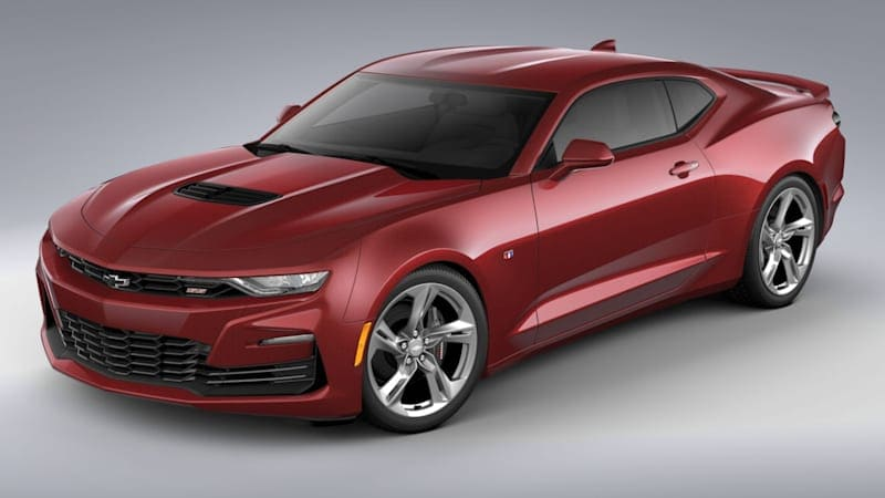 2021 Chevy Camaro will get two Wild Cherry Design Packages