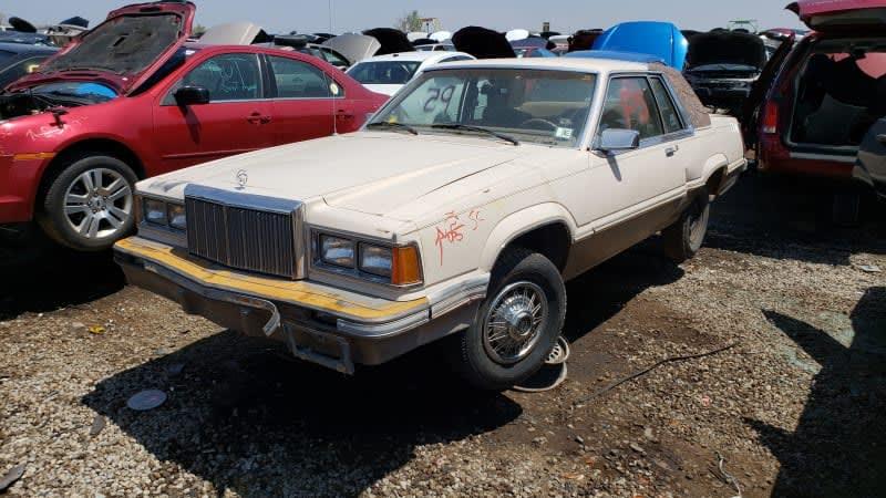 Junkyard Gem: 1981 Mercury Cougar XR-7