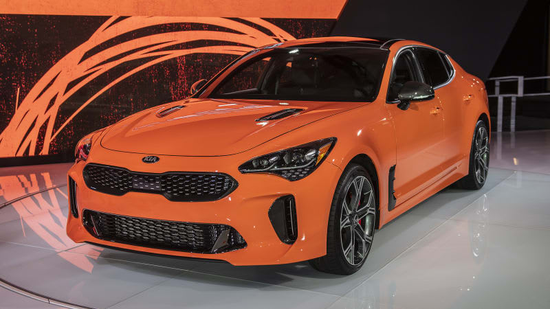 Kia design boss hints at an electric version of the Stinger