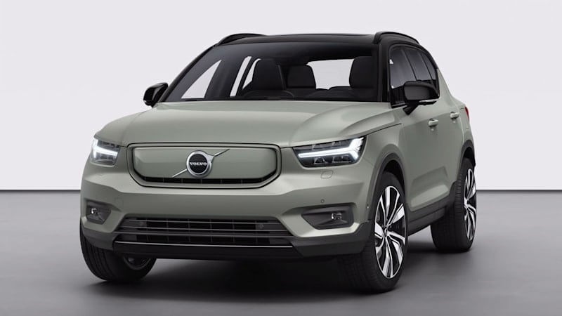 Volvo takes us on a detailed tour of the XC40 Recharge