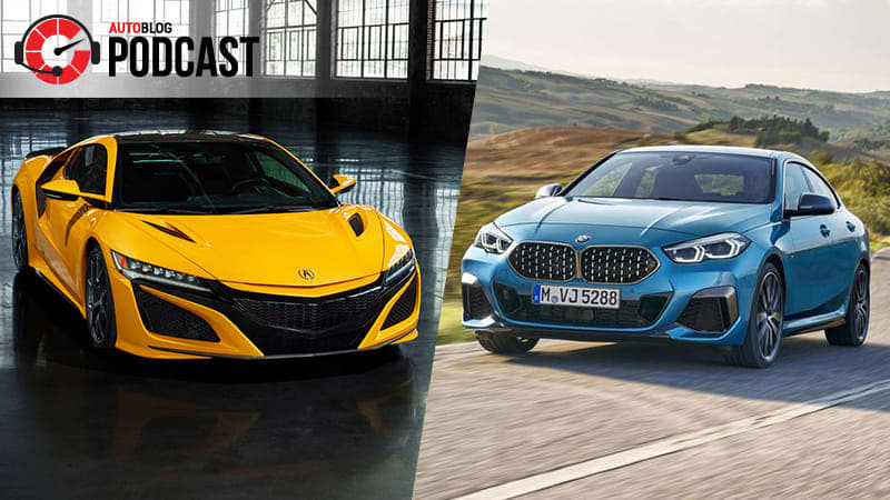 Acura NSX, a pair of 2 Series Gran Coupes and a time machine | Autoblog Podcast #628