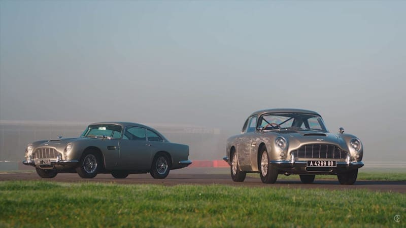 Aston Martin DB5s from 'No Time to Die' sampled by Carfection