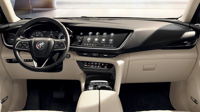 Buick Envision interior just as nice as its exterior