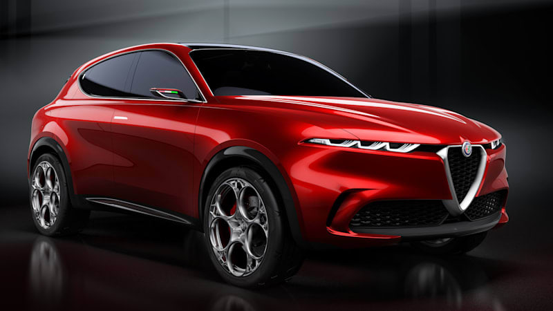 A few more details on Alfa Romeo's subcompact electric crossover for 2022