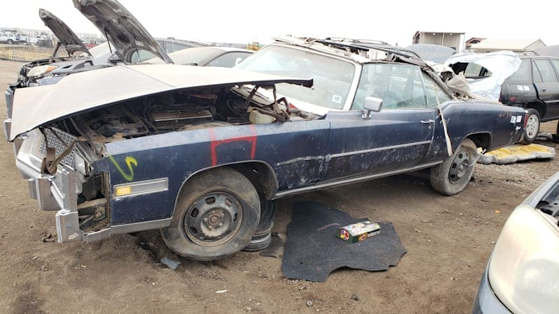 Junkyard Gem: 1976 Cadillac Eldorado Convertible