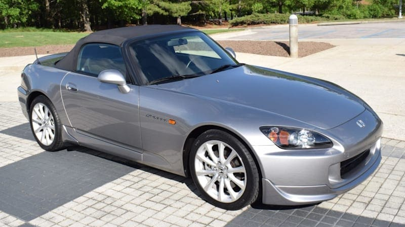 You have another chance to get a near-new, 1,000-mile Honda S2000