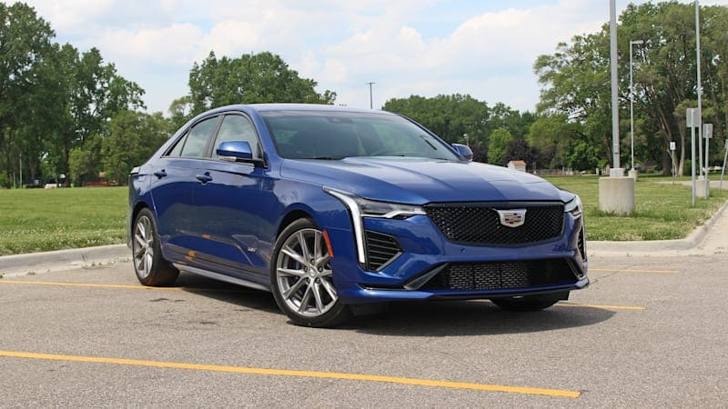 2020 Cadillac CT4-V First Drive + Video | The Cadillac of compact Cadillacs