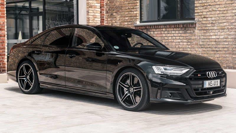Abt Audi S8 ramps the big, luxury sedan up to 690 horsepower