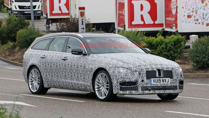 2021 Jaguar XF Sportbrake and XF sedan spied in camo with updates incoming