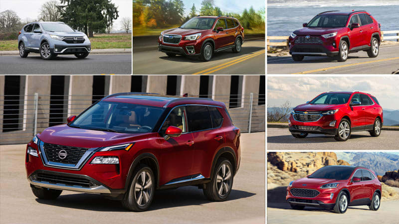 2021 Nissan Rogue vs compact crossover rivals: How they compare on paper