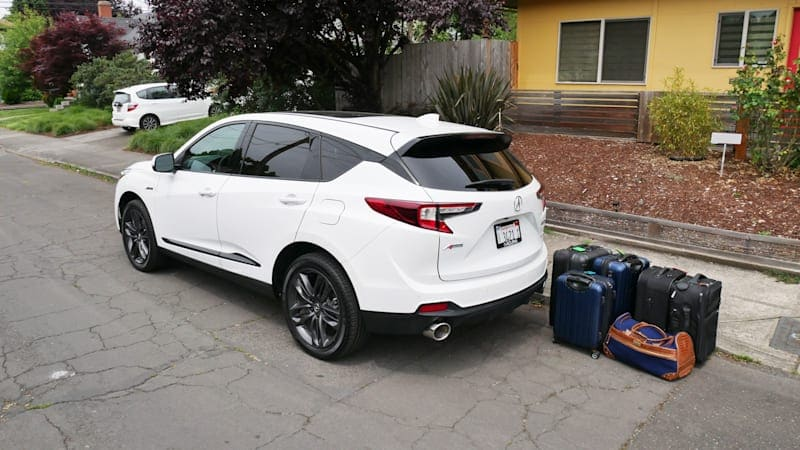 2020 Acura RDX Luggage Test | In no way a 'compact' SUV