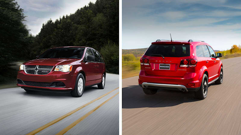 FCA axes Dodge Journey and Grand Caravan for 2021