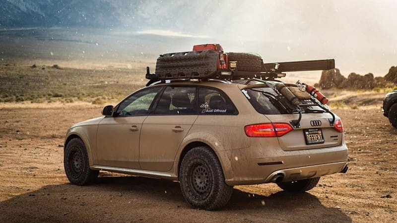 Homebrew Audi Allroad overlander is actually an A4 NoRoad