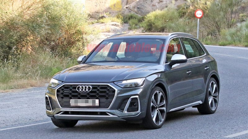 2021 Audi SQ5 spied without camo