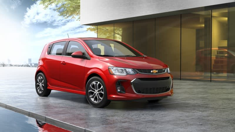 Chevy Sonic production ends in 2020 to make way for an electric crossover
