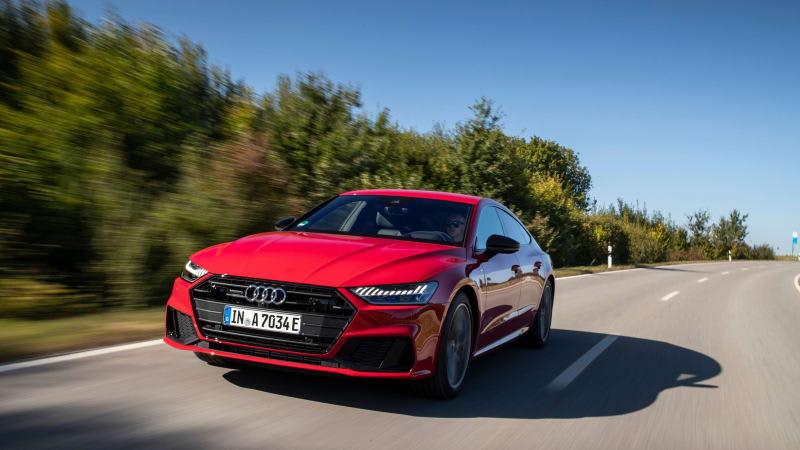 2021 Audi A7 55 TFSI e plug-in hybrid priced at $75,895