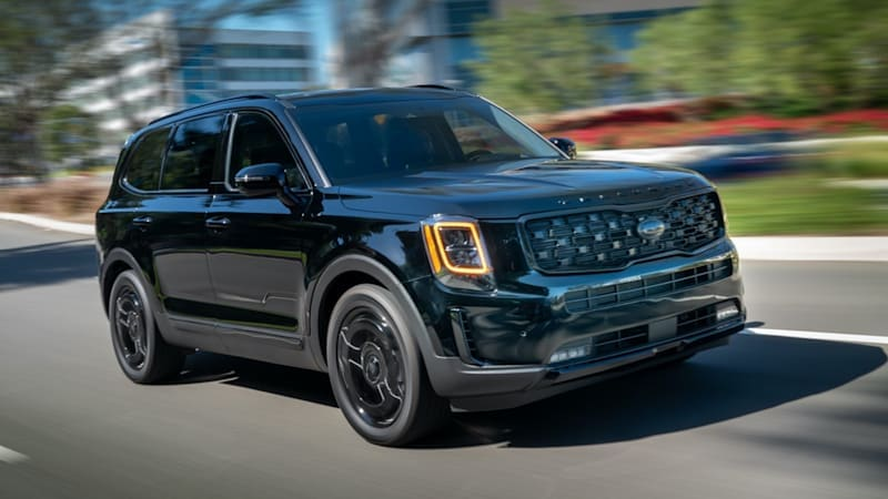 2021 Kia Telluride Nightfall Edition is a stealthy appearance package