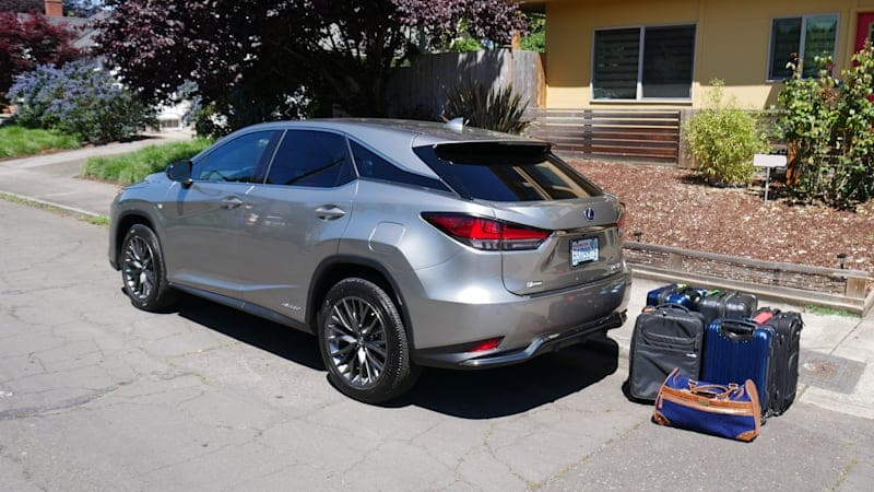 2020 Lexus RX Luggage Test | Ignore the numbers