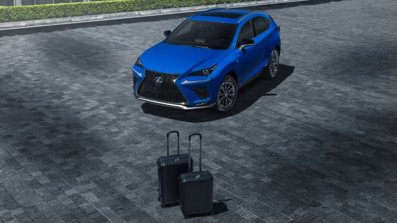 2021 Lexus NX 300h F Sport Black Line adds flair and luggage