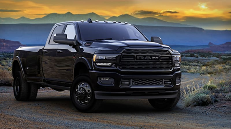 2020 Ram Heavy Duty Limited Black Edition answers the call of the void