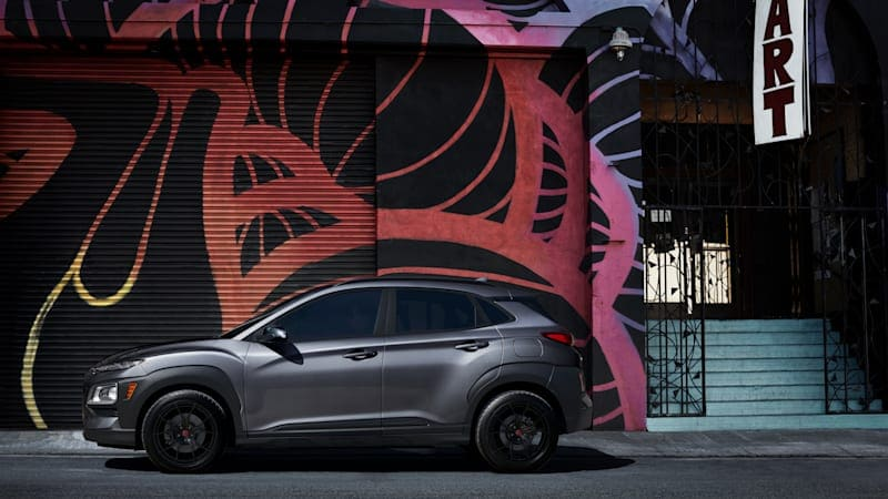 2021 Hyundai Kona Night Edition is the latest to paint it black