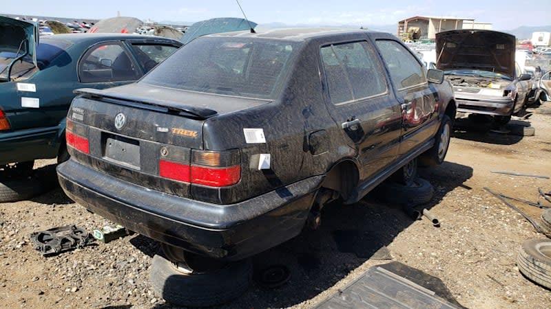 Junkyard Gem: 1997 Volkswagen Jetta Trek Edition