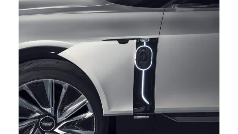 Cadillac Lyriq teased ahead of debut next week