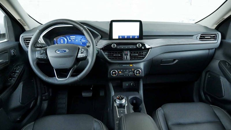 2020 Ford Escape Interior Driveway Test | Bins and screens and sliding seats, oh my