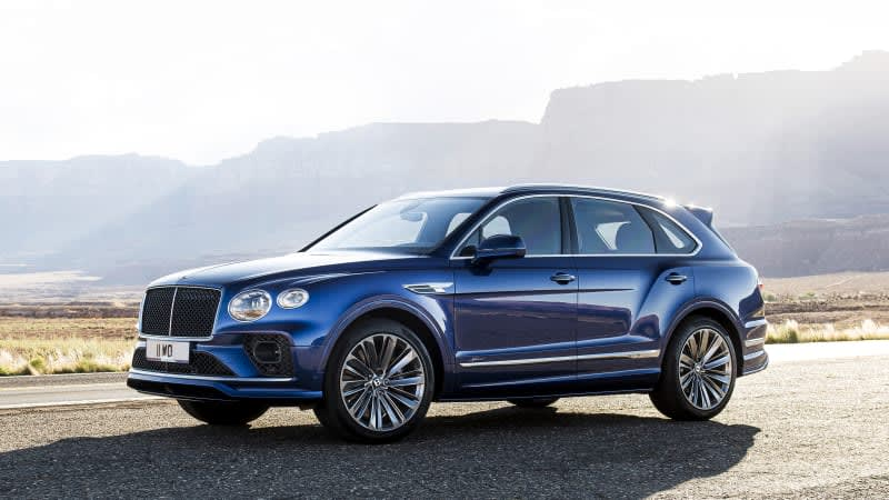 2021 Bentley Bentayga Speed adopts new look, still fastest SUV in the world