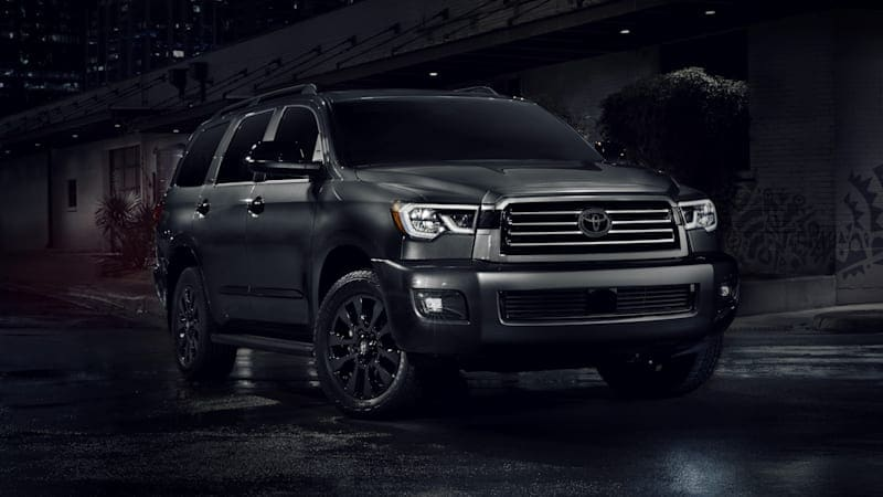 2021 Toyota Sequoia adds Nightshade Edition, Lunar Rock paint finish