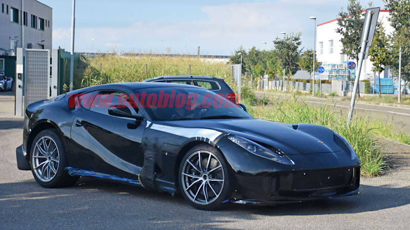 Ferrari 812 Superfast variant spied, could be a GTO