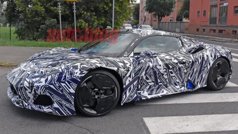 Watch the Maserati MC20 unveiling