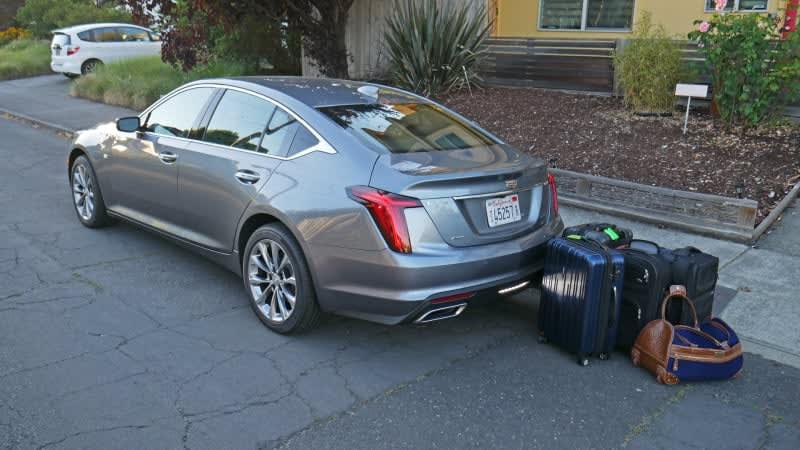 2020 Cadillac CT5 Luggage Test | Definitely not your granddad's Cadillac