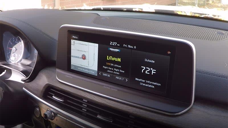 2021 Kia Telluride Infotainment Driveway Test   New year, same great tech