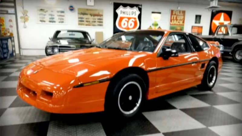 The last Pontiac Fiero sold for $90,000 at auction