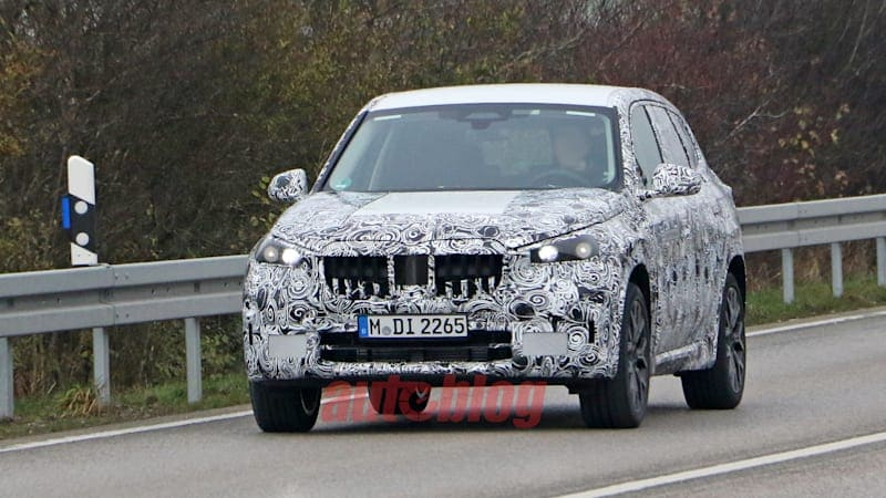 BMW X1 plug-in hybrid revealed in new spy photos