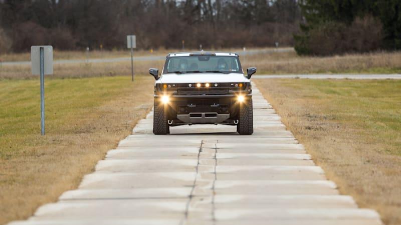GMC Hummer EV heads north for winter